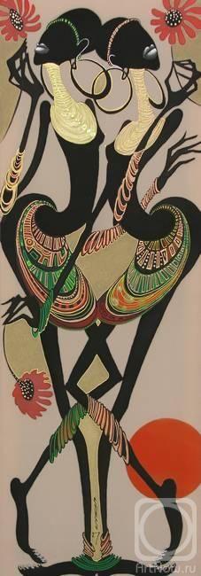 Соколова Надежда. Африканки