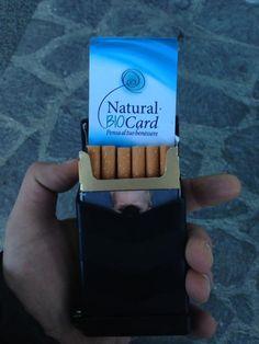 Natural Bio Card : Riduci la nicotina e il catrame nelle sigarette