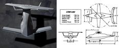 McDonnell Douglas CRW UAV