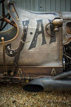 Steampunk Car - Richard Scaldwell's Sensational JAP GN Cycle Car Cycle Kart, Supercars, Old Race Cars, Kustom Kulture, Vintage Race Car, Kit Cars, Retro Cars, Courses, Motor Car