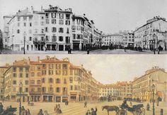 Piazza Duomo 1862 | da Milàn l'era inscì