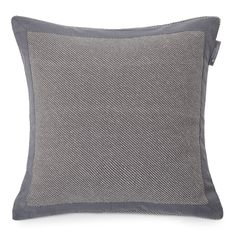 Lexington+Urban+Washed+Sham+Grey++-+100%+cotton+grey+washed+cotton+cushion+sham+with+bold+contrast+border. Complement+your+luxury+bed+linen+with+the+Lexington+Urban+Washed+Sham+Grey. Sumptuously+soft,+this+100%+cotton+cushion+cover+takes+style+inspiration+from+the+relaxed+city+living+of+Brooklyn's+Williamsburg+district. Square+in+shape,+this+luxury+washed+cotton+sham+features+a+subtle+diagonal+striped+embroidery+with+plain+contrast+border. A+Lexington+side+seam+tab+label+then+guarantees+...