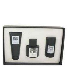 Kenneth Cole Vintage Black Gift Set By Kenneth Cole