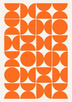LuckyPosters is full of original and iconic wall art prints. We design and print every item that you buy from us. Abstract Geometric Art, Abstract Wall Art, 60s Patterns, Print Patterns, Pattern Art, Art Mural Orange, Orange Art, Trend Board, Sunset Art