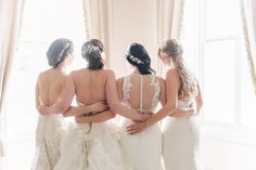 Brides, Brunch, & Bubbly Styled Shoot  on Borrowed & Blue.  Photo Credit: Dear Stacey Wedding Photography