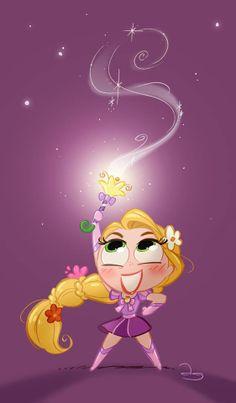 Chibie Magical Punzie by David Gilson