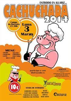 Cachuchada de Entroido en Allariz #galicia #carnaval