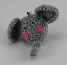 Handmade Crochet Keyring/Charm