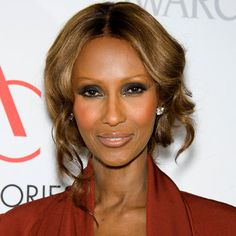 """""""Every woman-even women of color-should wear a blush bronzer. Not a self-tanner bronzer!""""-Iman"""