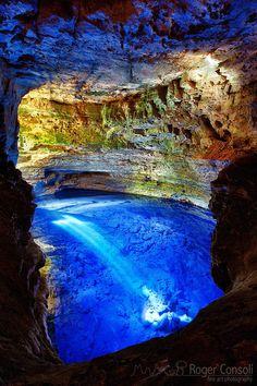 Enchanted Well - National Park Poco Encantado - Brazil