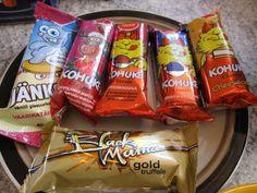 Estonian foods: Kohuke (curd snack)
