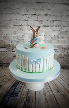 Peter Rabbit cake by A Cake Occaaion