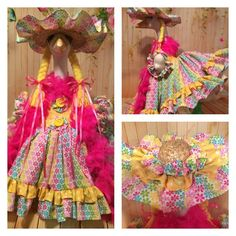 available on ebay #brightcolors #featherboas #gooseclothes #goose #enigma