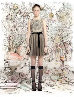 #Fall/#Winter #2013-#2014, #Red #Valentino, #Valentino, #Women's, #Womenswear, #Fashion #Show, http://www.style-tips.com/en/news/archives/51556