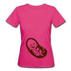 Schwanger Frauen Bio-T-Shirt. #Schwanger #Tshirt #Spreadshirt #Cardvibes #Tekenaartje #SOLD