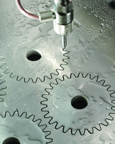 The versatility of waterjet cutting is well known, but its reputation as a maintenance intensive technology holds it back. Predictive maintenance may change that. Milling Machine, Machine Tools, Cnc Maschine, Diy Cnc Router, Metal Bending, Mechanic Tools, 3d Laser, Homemade Tools, Metal Projects