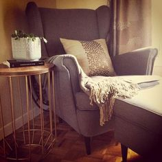 Reading nook - Strandmon chair, Ikea