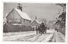 CASSIO HAMLET near Watford, On Boxing Day 1906, Postcard by Downer Posted 1907 | eBay