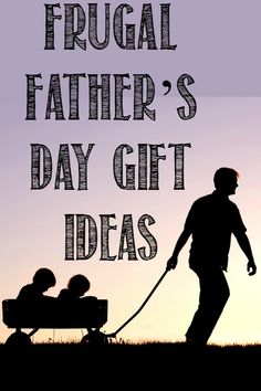 Frugal Fathers Day Gift Ideas: virtually free gift ideas to give dad this Father Day! They may be cheap but they are most definitely meaningful gifts he will likely enjoy and remember for a long time!