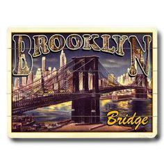 Brooklyn Bridge 16x12 now featured on Fab.