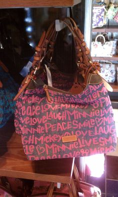 Disney Pink Erica Bag by Dooney & Bourke