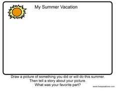 my summer vacation_page1_image1