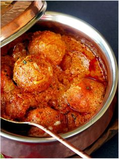 Malai Kofta/Cheese Dumplings Simmered in a Creamy Sauce