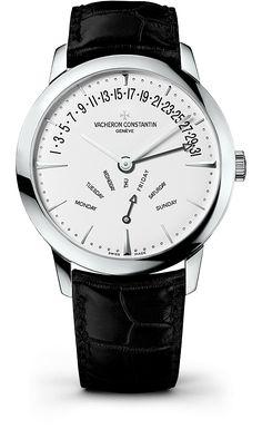 Vacheron Constantin [NEW] Patrimony Bi-Retrograde Day Date 42.5mm 86020/000g-9508 (Retail:US$45,700) - Unbeatable Offer:- HK$268,000.