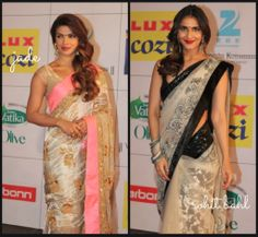 Desipolitan: striking saris by Jade and Rohit Bahl