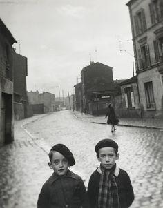 Louis Stettner Aubervilliers, 1947.
