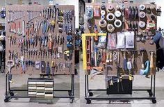 Jewelry Tool Organization Ideas and Tutorials