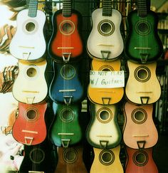 You can purchase a relatively cheap second hand guitar online.a great start to learning to play or leave it against the bed for cooool decor! Club Monaco, Acoustic Guitar Strap, Acoustic Guitars, Bass, Polaroid, Guitar Shop, Guitar Wall, Guitar Stand, Guitar For Beginners