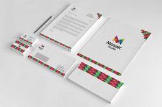 Creative Pixel Corporate Identity by Arslan on Creative Market