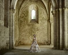 A project by Cristina Vatielli of Italy consists of seven photos, each representing a woma...