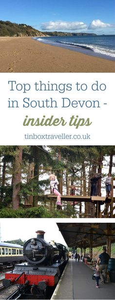 Top things to do in South Devon - insider tips from a local [AD] Tried and tested things to do in South Devon with kids including zoos, farms, historic sites, outdoor activities, beaches and what to do when it rains! Days Out With Kids, Family Days Out, Devon Beach, Visit Devon, Stuff To Do, Things To Do, Travel English, South Devon, Devon England