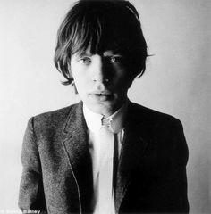 David Bailey portrait of Mick Jagger