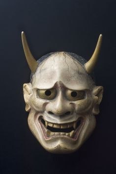 """Hannya mask is used in Japanese Noh theater, representing a jealous woman with a demon-like look.  """"Hannya"""" is a Japanese Buddhist term.   The word means wisdom, the ability to know truth.   The artist would need a great deal of the the """"wisdom"""".  The Heart Sutra, known in Japanese as Hannya Shingyo, Japanese Buddhist sutra, contains many gems of wisdom, things that we tend to forget..."""