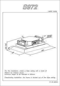 Kóty stropní digestoře SLT 972 Origami