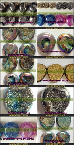 Nautal Titanium Coated Window Druzy Agate Cabochan Drusy gemstones Available at Direct wholesale Factory prices 12 from nathaan-gem-jewelry