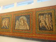 Palazzo di Crispo  (figlio di Costantino I), Treviri, Germania. Affreschi del soffitto. 315-325. Museum am Dom Trier, Trier, Germania