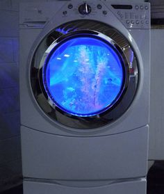When You See What This Man Did To A Washing Machine, Your Jaw Will Hit The Floor.