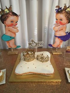 Prince or Princess  Gender Reveal Party Ideas | Photo 1 of 5