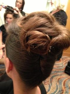 See the updos:  http://www.modernsalon.com/celebrity/celebrity-style/Textured-Updos-Backstage-with-Lucie-Doughty-at-Greg-LaVoi-in-LA-227837101.html