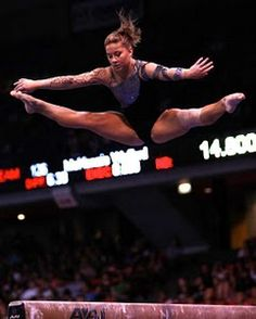 My fav gymnast Shawn Johnson competing at Covergirl Classic this past weekend after 3 years out of the competition world.