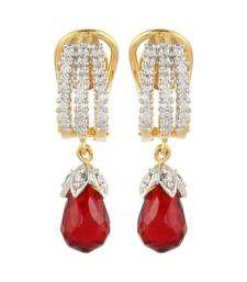 Buy Red Cubic Zirconia danglers-drops danglers-drop online