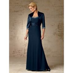 Jordan Fashions 5005 MOTHER OF THE BRIDE DRESS ALSO COMES IN MANY DIFFERENT COLORS AND THE GOWN IS CHIFFON