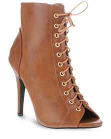 Utopia Lace-up Sexy Heel Boots Tan Tan Lace Up Heels, Sexy Heels, Winter Boots, Shoes Online, Fashion Brands, Heeled Boots, Peep Toe, Stuff To Buy, Shopping