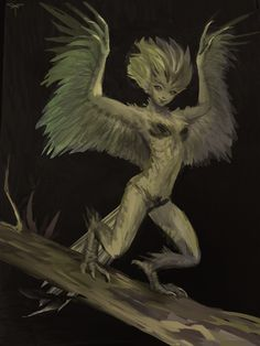 Little harpy by telthona beast folk in 2019 мифические сущес Fantasy World, Dark Fantasy, Fantasy Art, Character Inspiration, Character Art, Character Design, Design Inspiration, Fantasy Creatures, Mythical Creatures