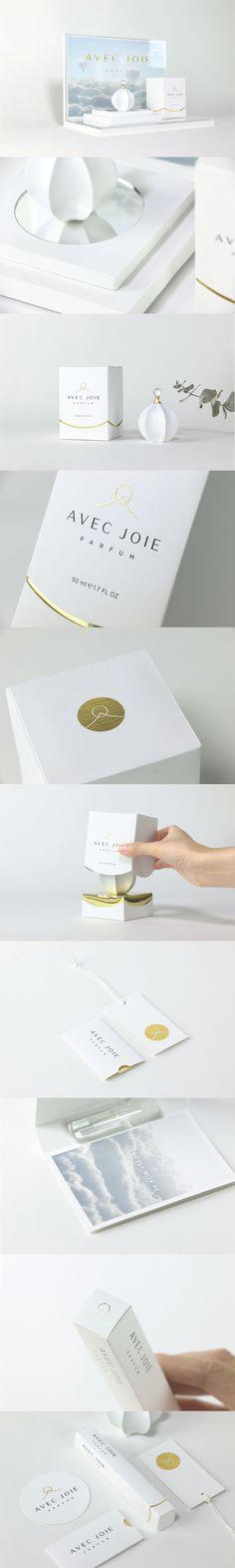 AVEC JOIE Fragrance Packaging designed by Yuga Huang