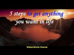 Abraham Hicks 5 steps to get anything you want in life - YouTube